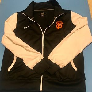 Nike SF Giants Zip Up Size L Mens Jacket
